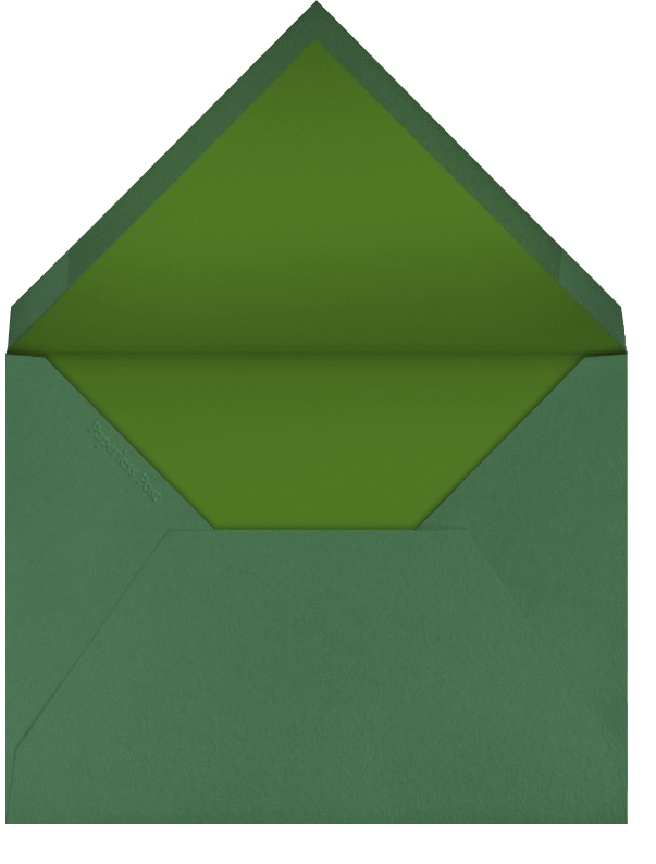 Gold Coins - Paperless Post - St. Patrick's Day - envelope back