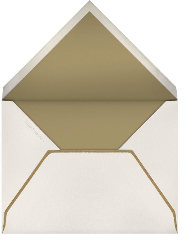 Gold Rounded Bevel (Horizontal) - Paperless Post - Wedding - envelope back
