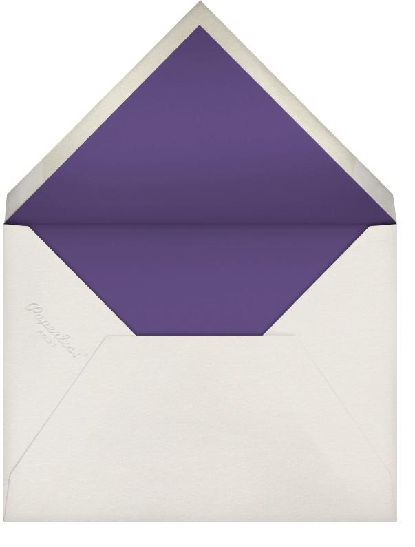 Hand Painted Butterfly - Second Purple - Bernard Maisner - General entertaining - envelope back