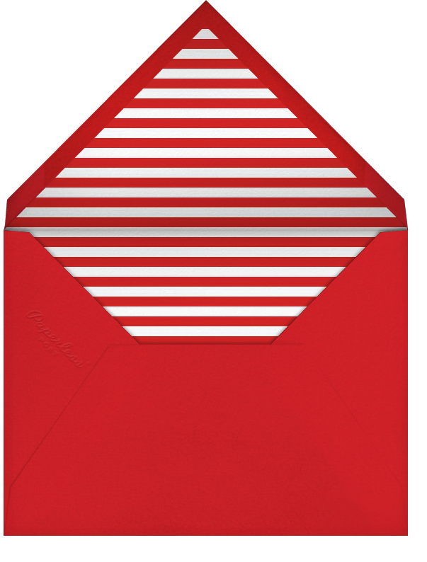 Heart Thank You - Red - Paperless Post - Personalized stationery - envelope back