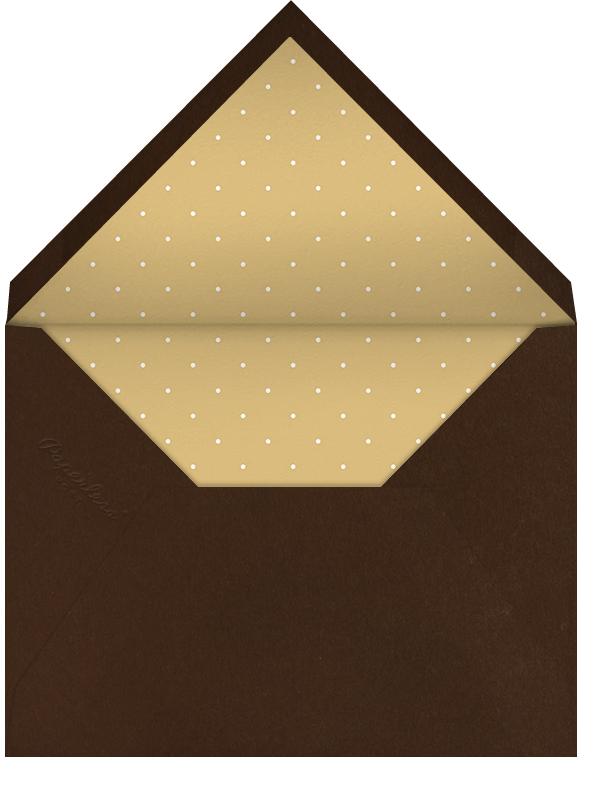 Irish Terrier - Paperless Post - St. Patrick's Day - envelope back