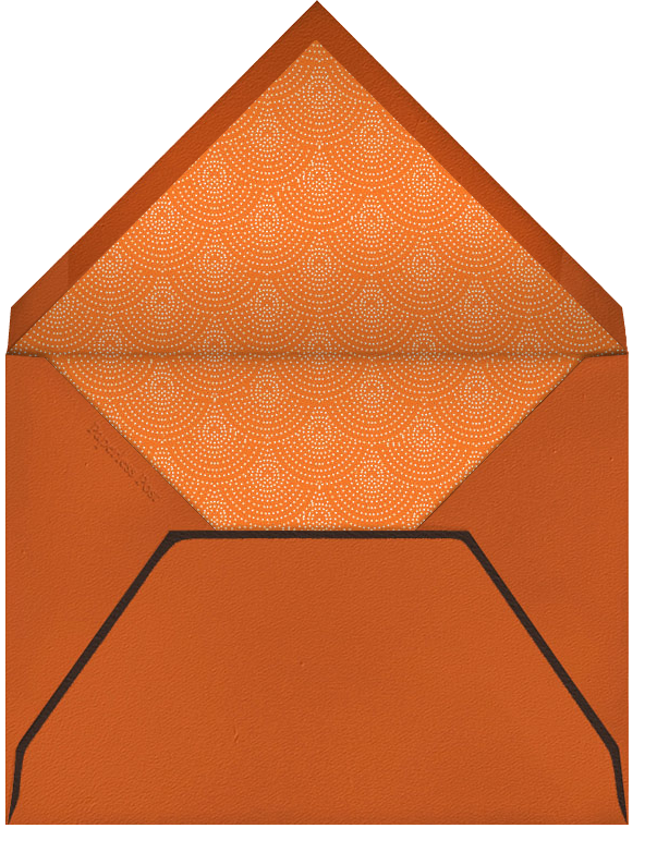 Jack-O-Lantern - Paperless Post - Halloween - envelope back