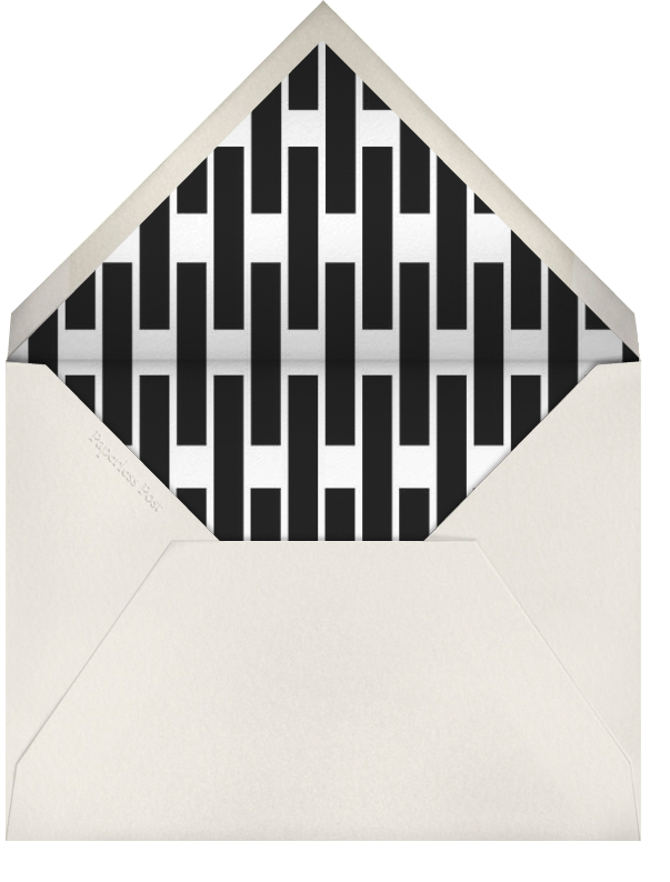 London Taxi - Paperless Post - Personalized stationery - envelope back