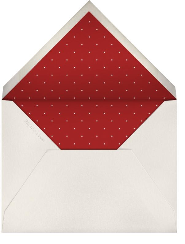 Many Thanks Cream (Crimson) - Paperless Post - General - envelope back