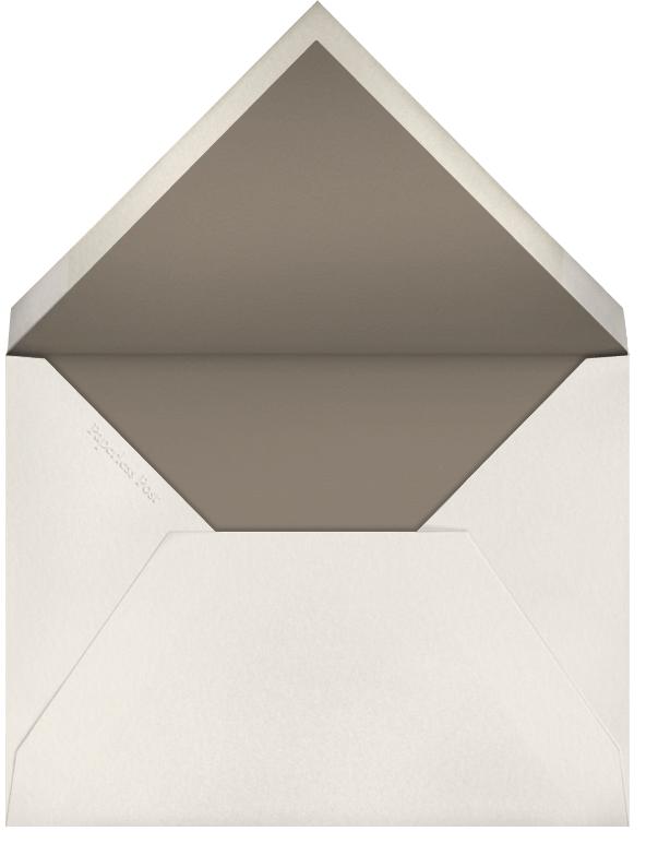 Matterhorn (Horizontal) - Paperless Post - Personalized stationery - envelope back