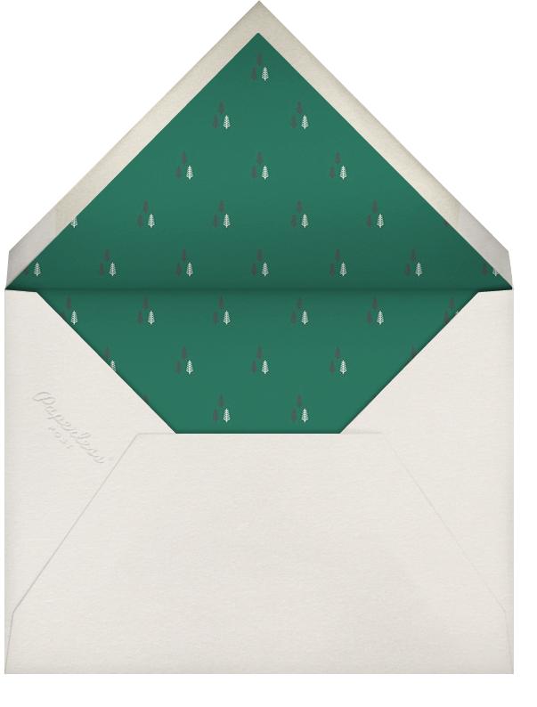 Moorish Silk - Paperless Post - Christmas party - envelope back