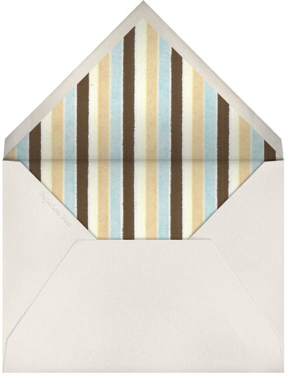 Peacock (cream) - Paperless Post - General entertaining - envelope back