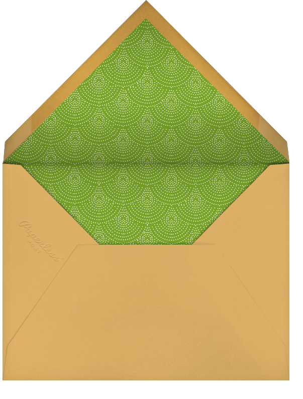 Topiary - Paperless Post - Personalized stationery - envelope back