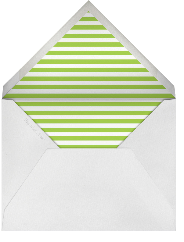 Wise Monkey - Paperless Post - Congratulations - envelope back