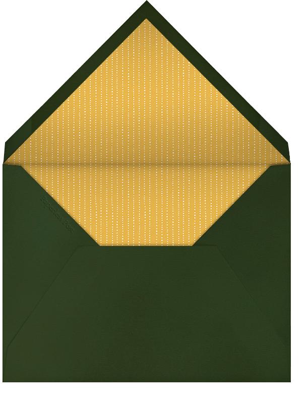 Double Border (Green Velvet) - Paperless Post - null - envelope back
