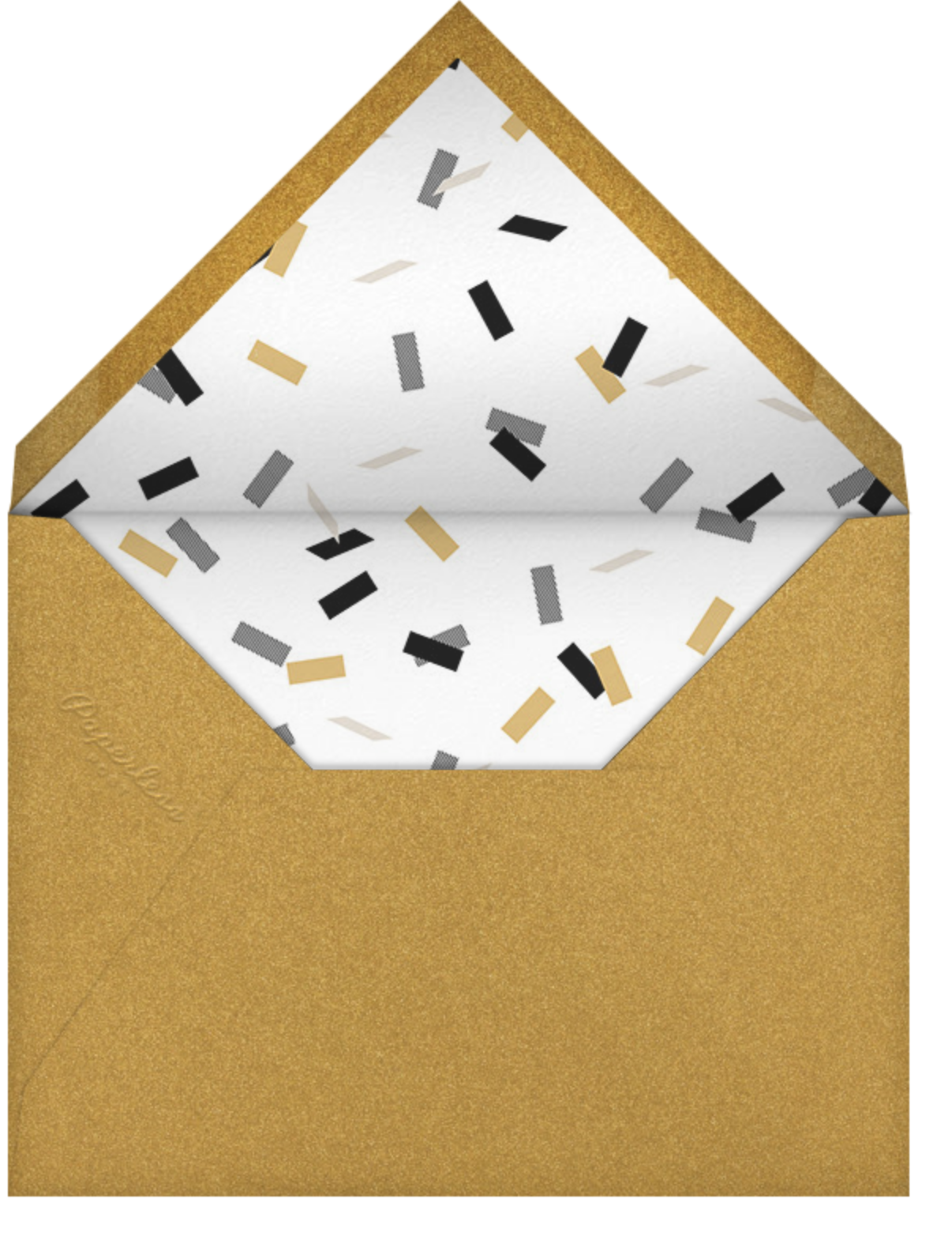 Fort Knox (Tall) - Paperless Post - Adult birthday - envelope back