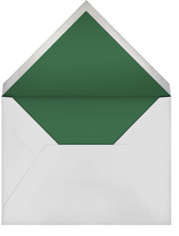 Butterfly Border - Green - Bernard Maisner - General entertaining - envelope back