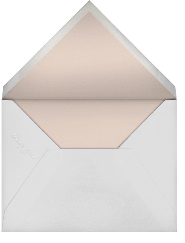 Butterfly Border - Pink - Bernard Maisner - Bridal shower - envelope back