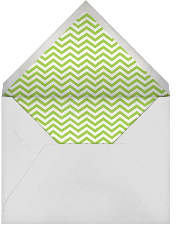 Chez Castel - Leaf Green - Paperless Post - Envelope