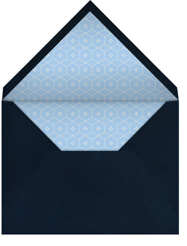 Classic Thanks (Navy) - Paperless Post - General - envelope back