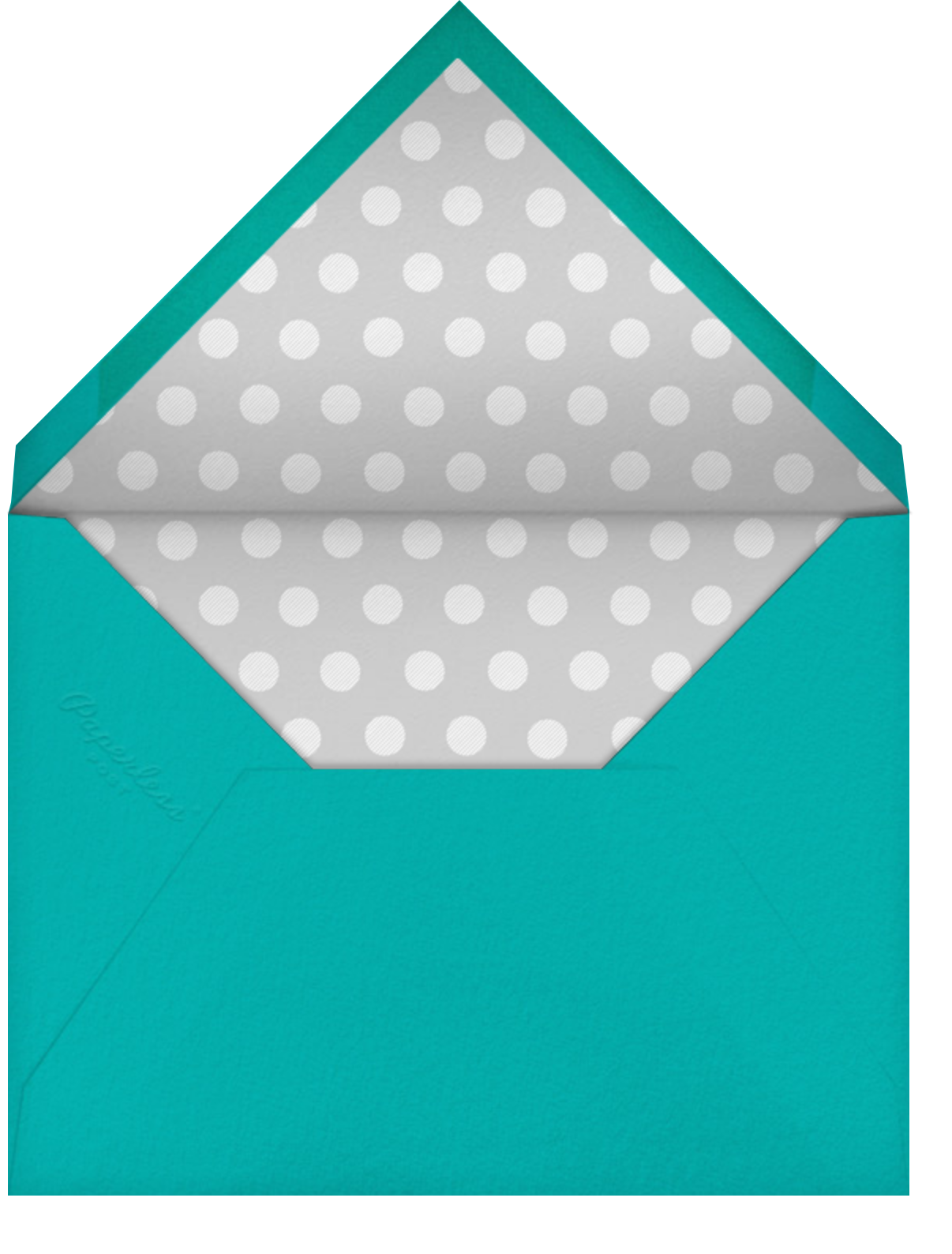 Croc Border - Amazon - Paperless Post - Adult birthday - envelope back