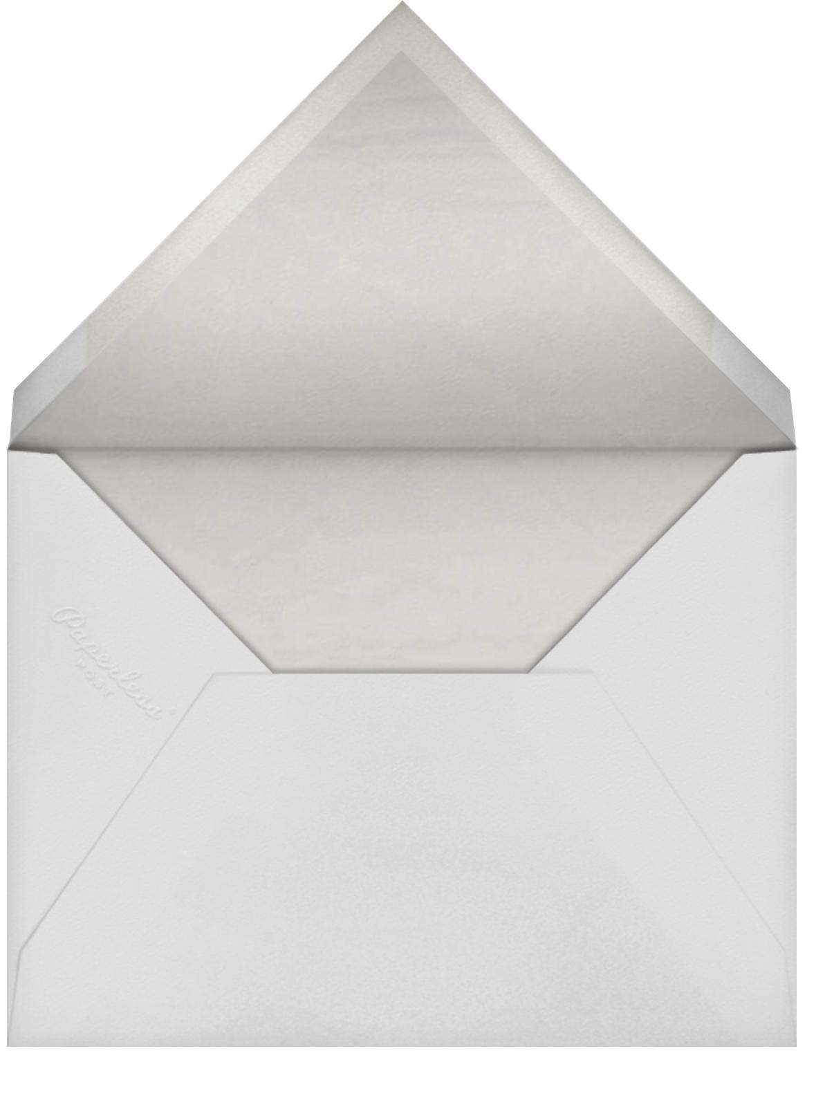 Damask - Ivory Blind Embossed (Border) - Paperless Post - Envelope