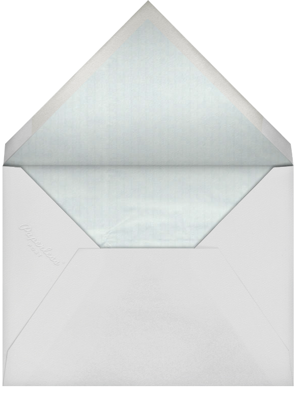 Damask - Ivory with Chartreuse (Border) - Paperless Post - Envelope