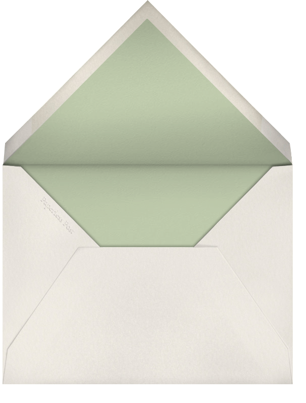 Dotted Bevel - Ivory Blind Emboss (Small Square) - Paperless Post - Envelope
