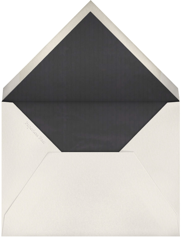 Dotted Bevel - Ivory Silver (Small Square) - Paperless Post - Envelope