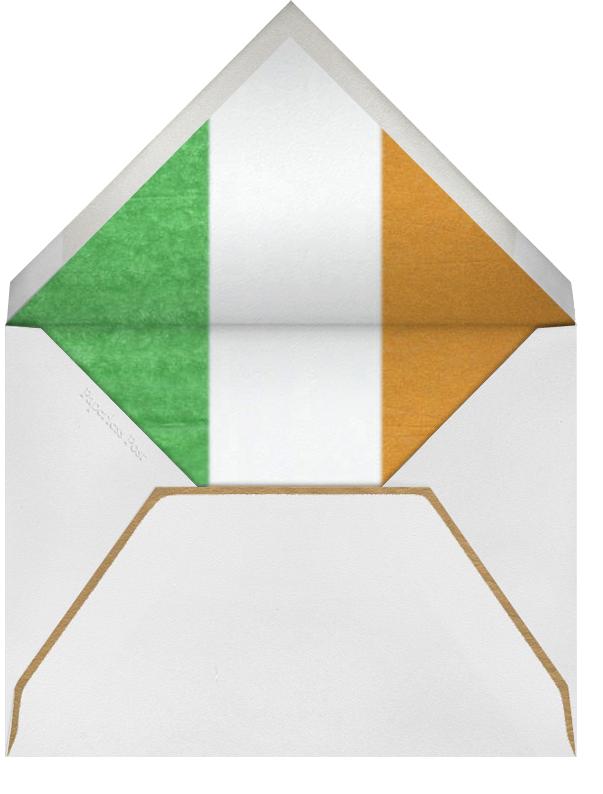 Dubliner - Paperless Post - St. Patrick's Day - envelope back