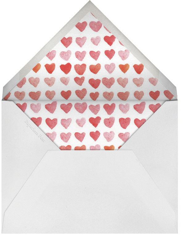 I Love You - Linda and Harriett - Valentine's Day - envelope back