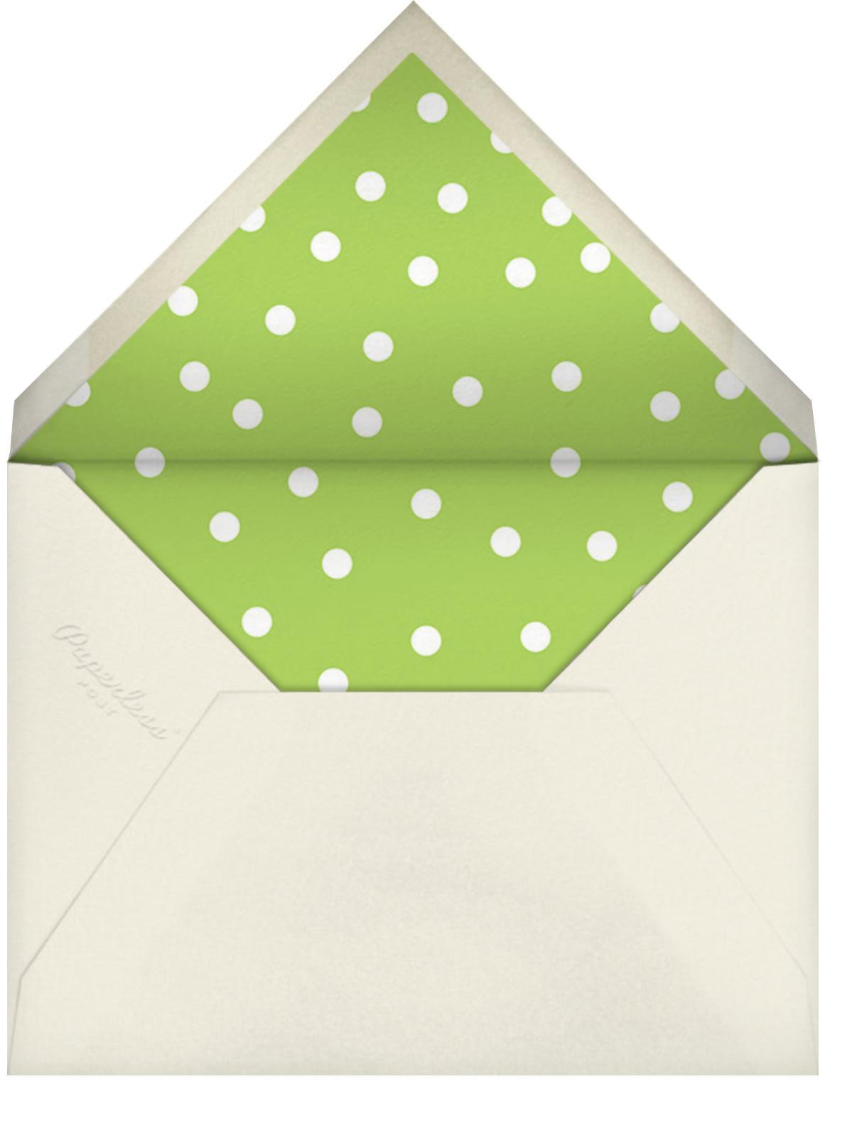 Join us - Green - Linda and Harriett - Envelope