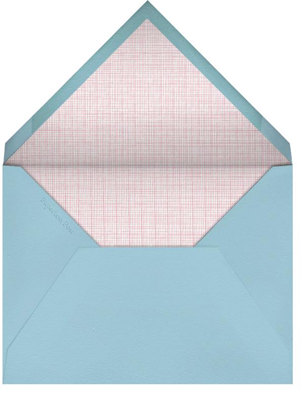 Lighthouse - Linda and Harriett - Beach party - envelope back