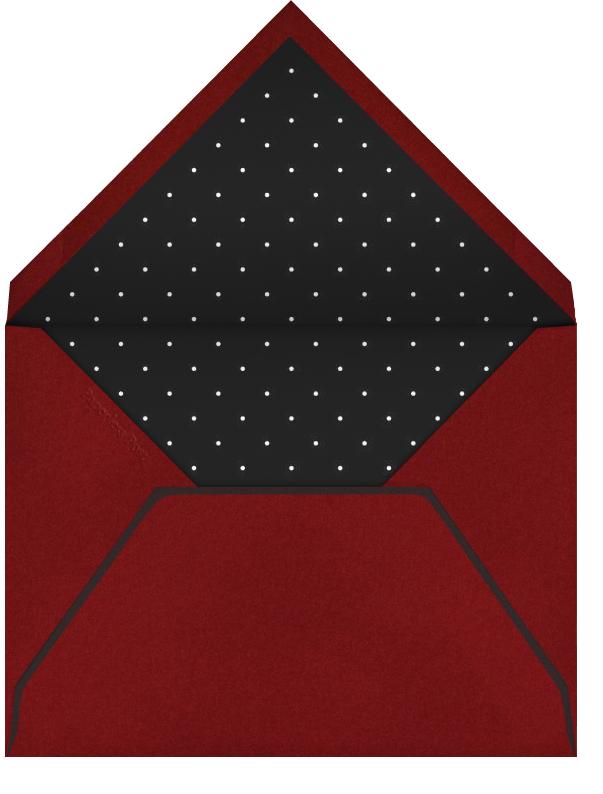 Penguin Love - Paperless Post - Valentine's Day - envelope back