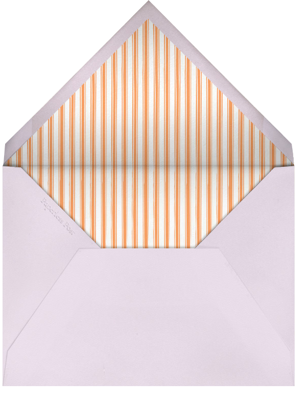 Race Horses - Kumquat and Pale Purple - Paperless Post - Sports - envelope back