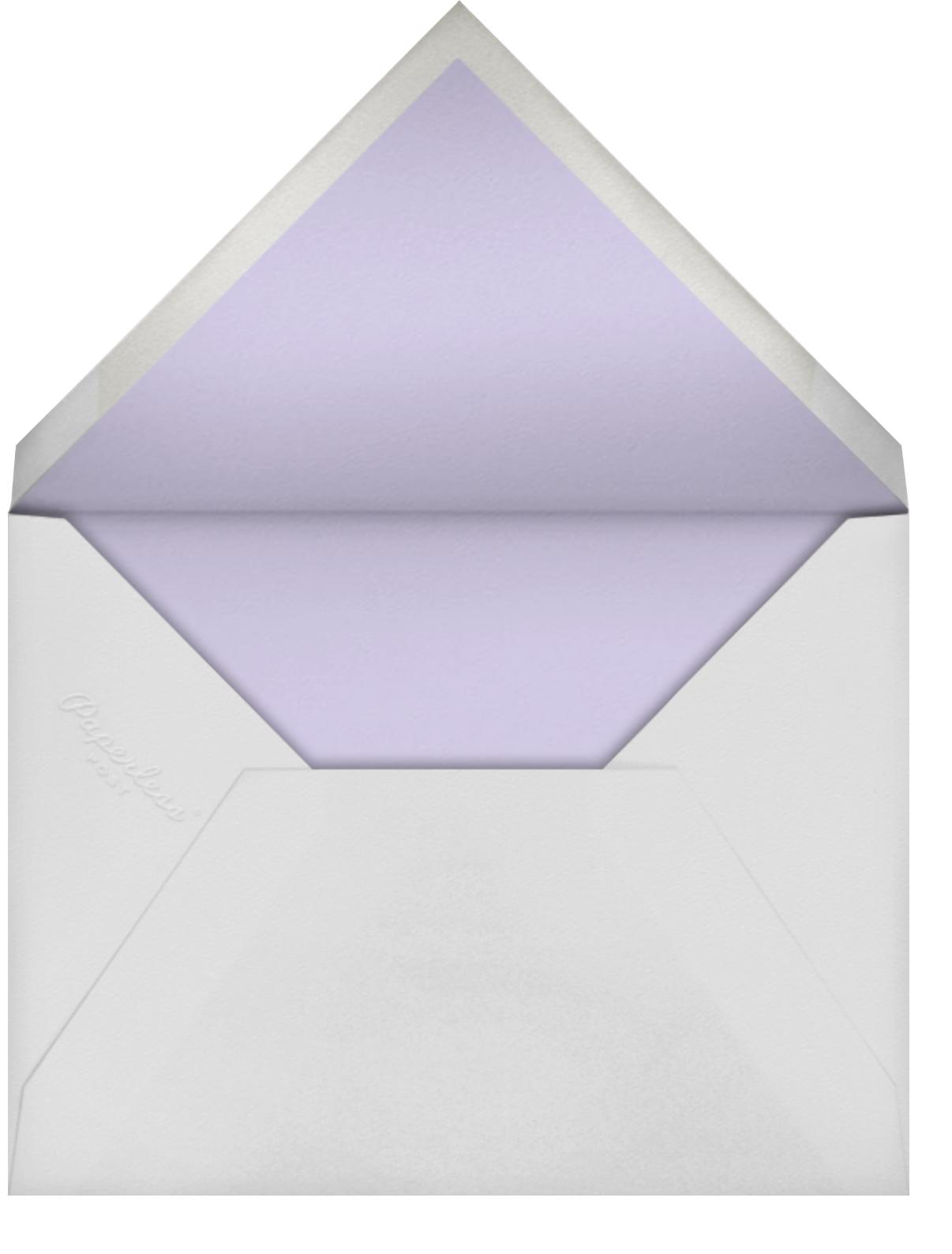 Ranunculus - Lavender - Paperless Post - Envelope