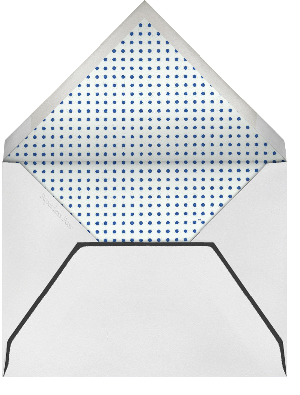 Rorschach Birthday Cake (Blue) - Paperless Post - Envelope