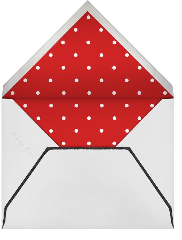 Rorschach Birthday Cake (Crimson) - Paperless Post - Envelope