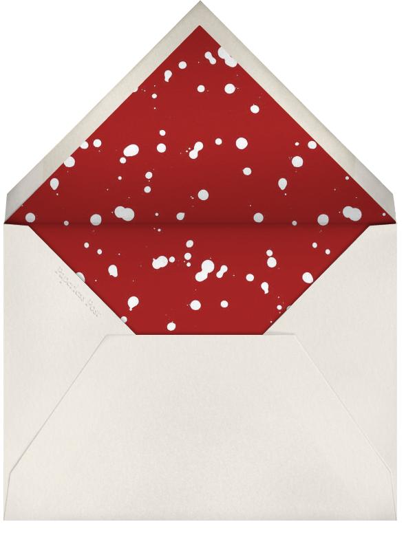 Rorschach Birthday Silhouette (Crimson) - Paperless Post - Envelope