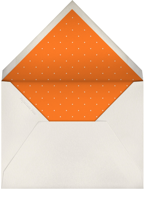 Sienna - Paperless Post - General entertaining - envelope back