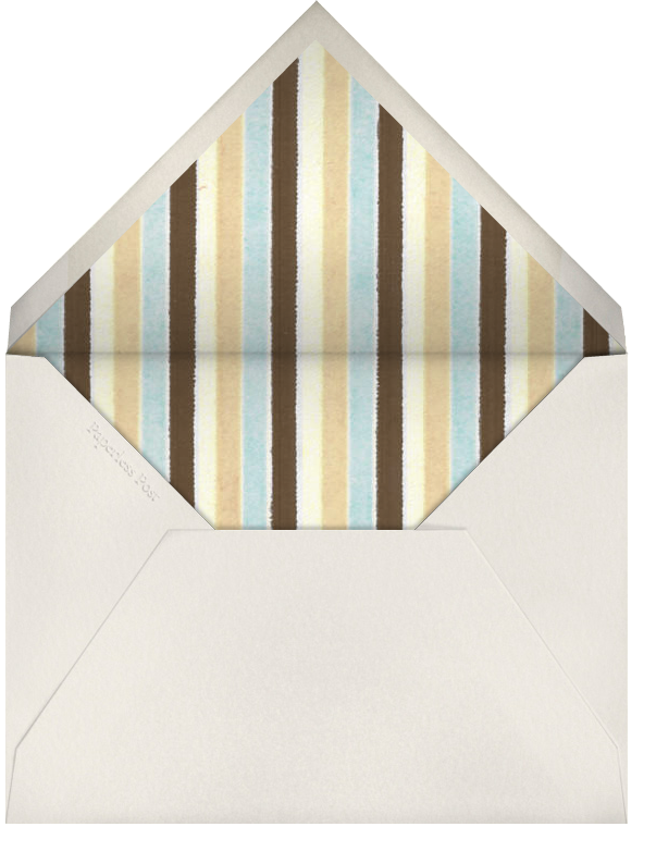 Simple Edge (Cream with Blue) - Paperless Post - null - envelope back