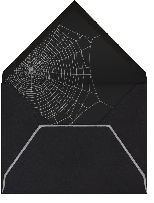 Spiders (Ivory) - Paperless Post - Halloween - envelope back