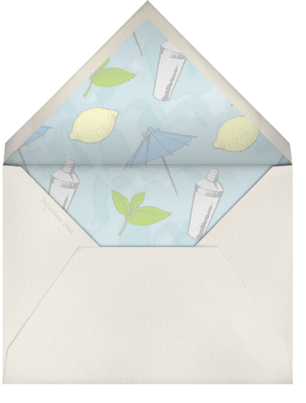 St. Tropez - Paperless Post - Beach party - envelope back