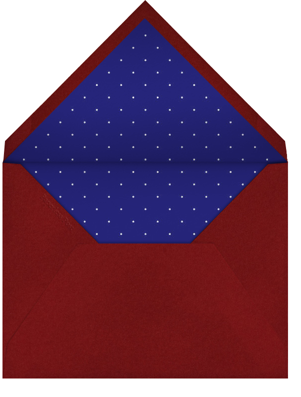 Stars and Stripes - Linda and Harriett - 4th of July - envelope back