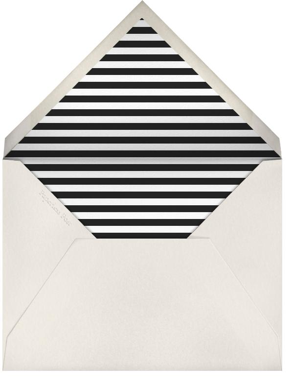 Striped Thank You (Black) - Paperless Post - General - envelope back