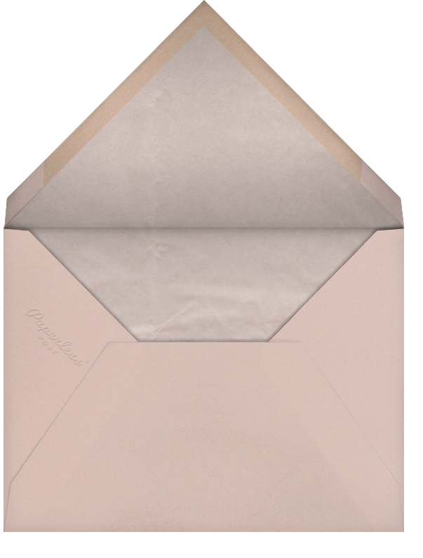 Tangiers - Clay - Paperless Post - Save the date - envelope back
