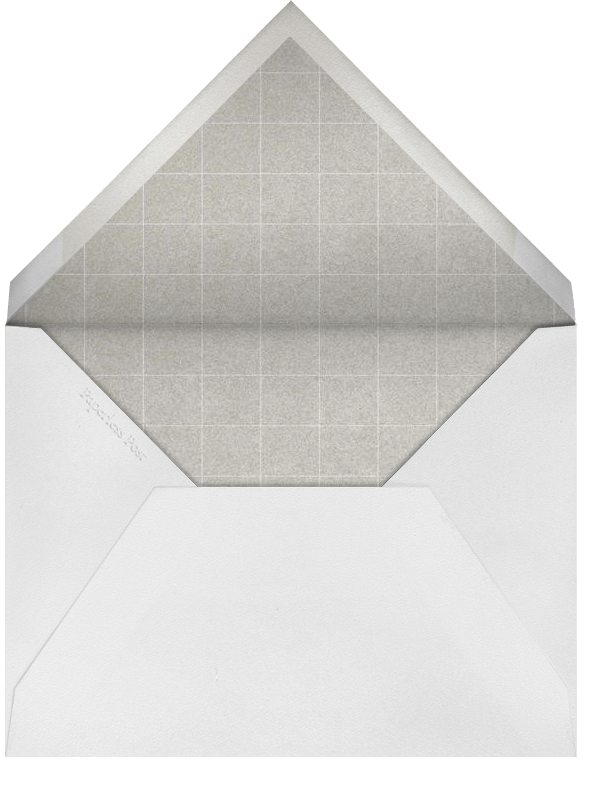 Travel - Ivory and Silver Telegram - Paperless Post - Boho - envelope back