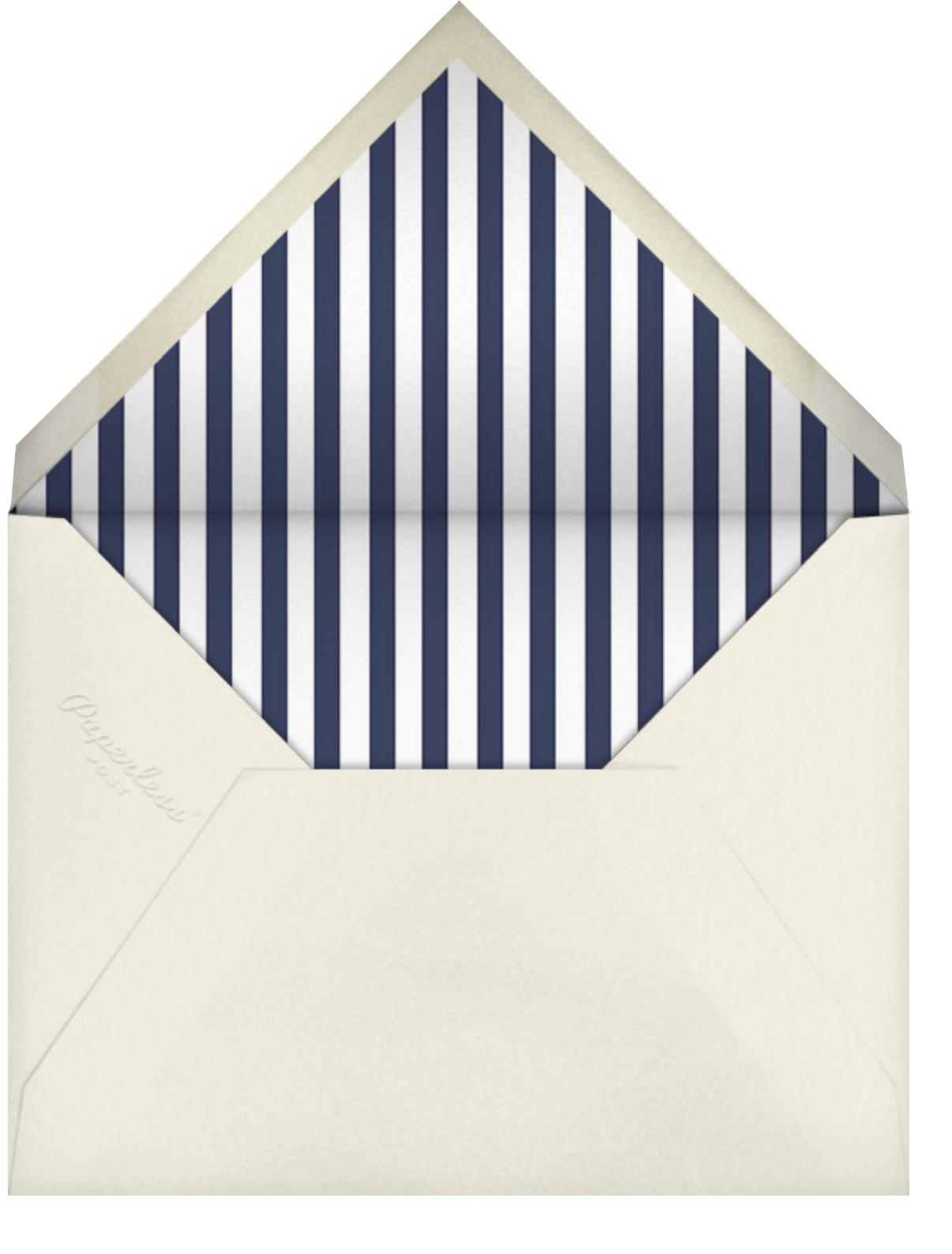 Tuxedo - Blue - Paperless Post - Adult birthday - envelope back