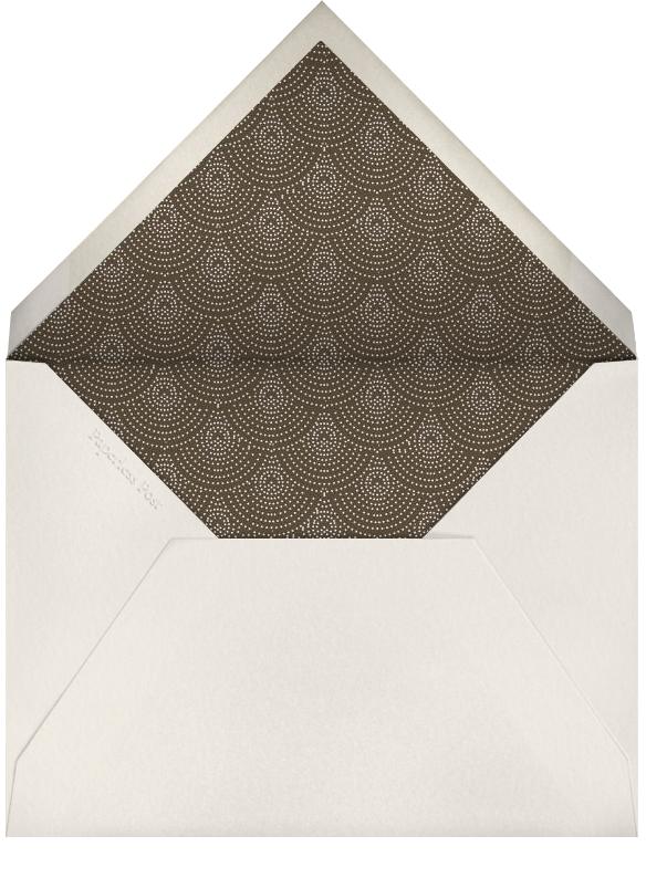 Tuxedo - Gray - Paperless Post - Adult birthday - envelope back