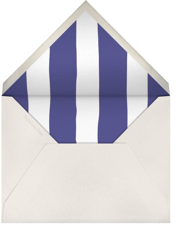 Beach Vignette - Light Blue - Paperless Post - Summer entertaining - envelope back