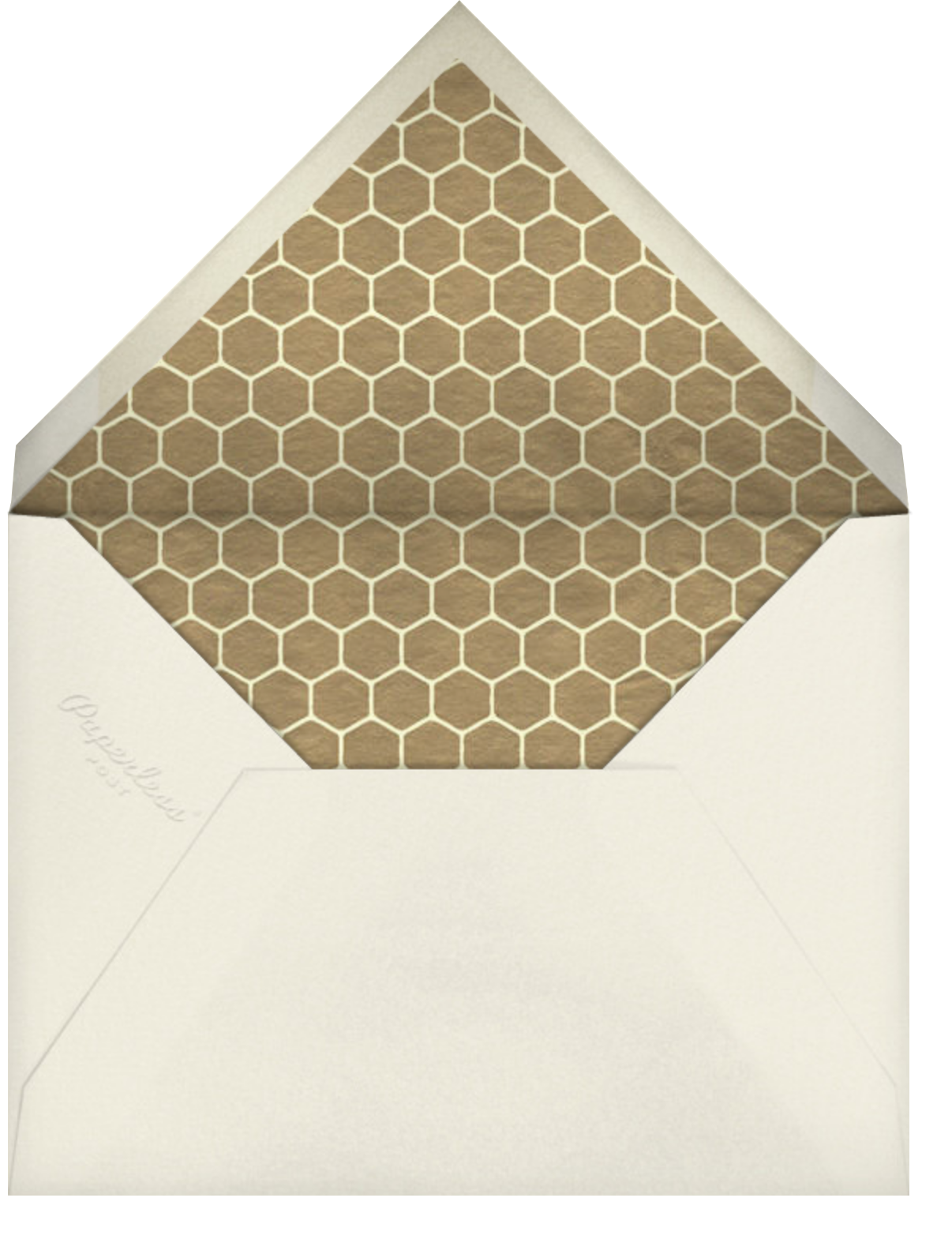 Bee Thank You - Light Blue - Paperless Post - Baby and kids' - envelope back