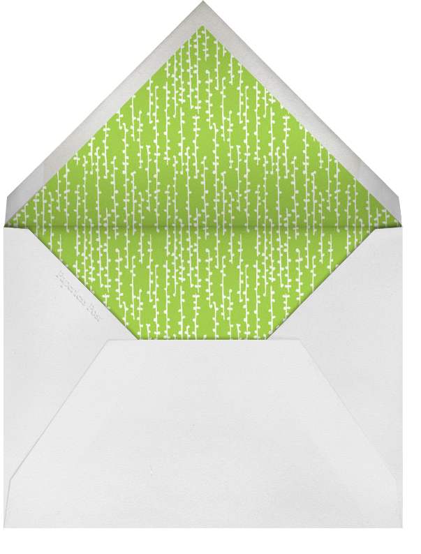 Hydrangea (Light Blue) - Paperless Post - Birthday - envelope back