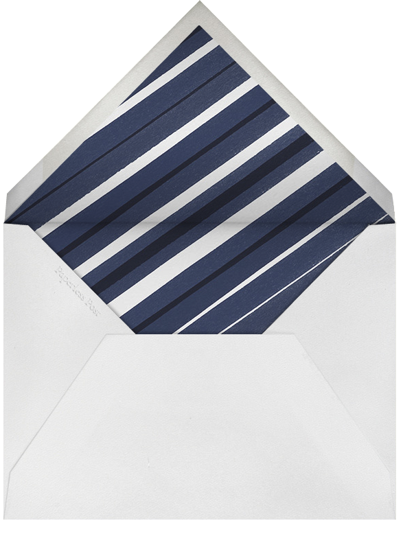 Light Blue - White Dotted - Paperless Post - Envelope