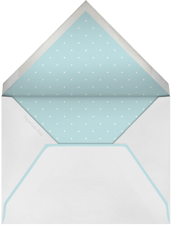 Light Blue - White Stripe - Paperless Post - Kids' stationery - envelope back