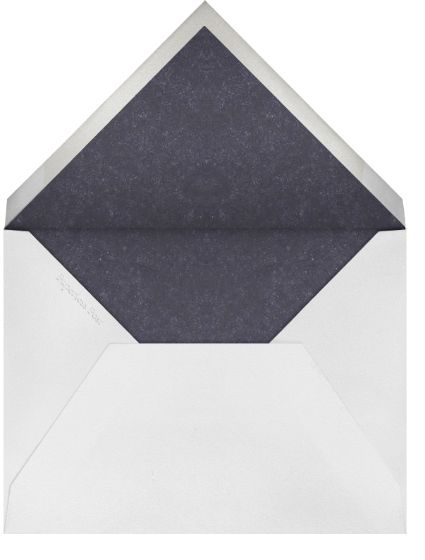 Light Blue - Blue Dotted - Paperless Post - Envelope